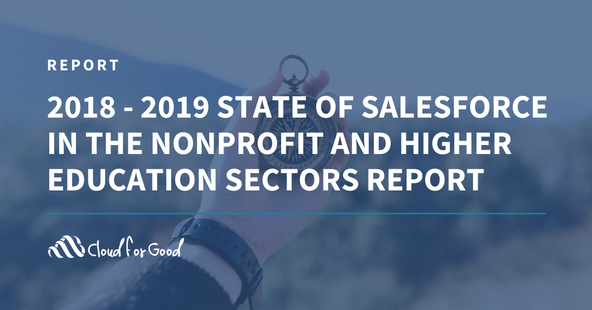 2018-2019 Sate of Salesforce NGO + HED