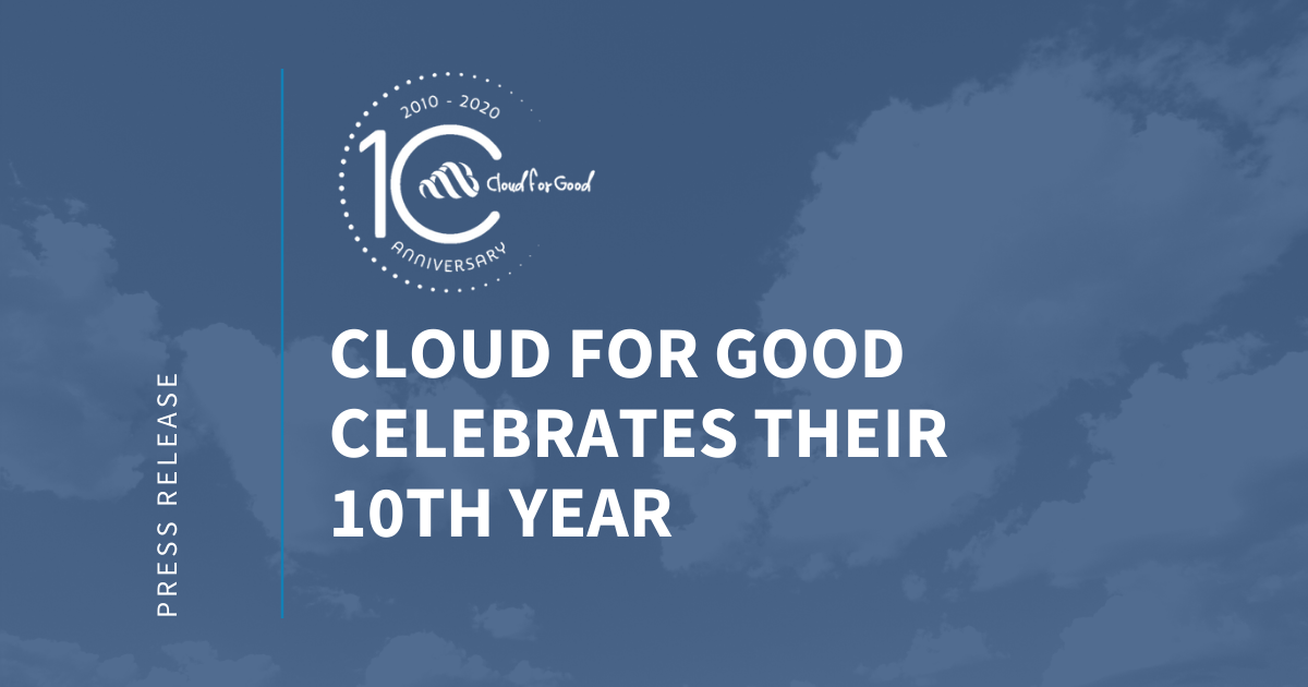 Cloud for Good celebrates 10 years
