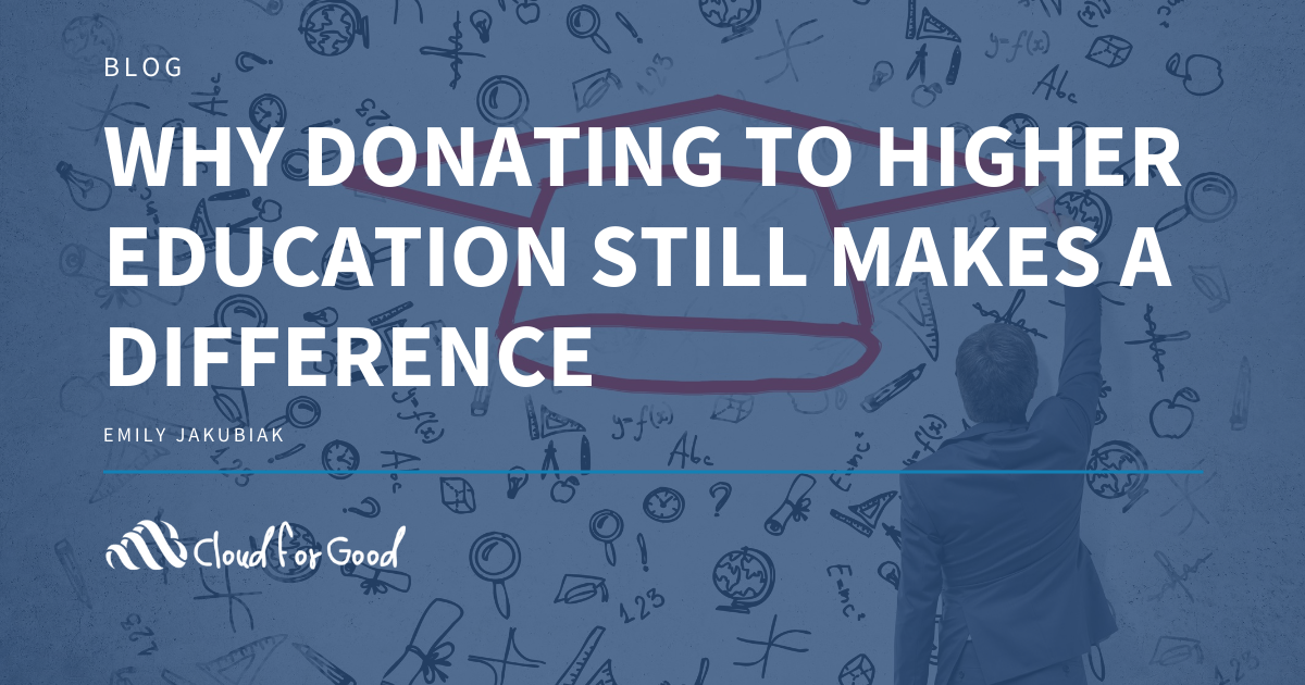 Why Donating to Higher Education Still Makes a Difference